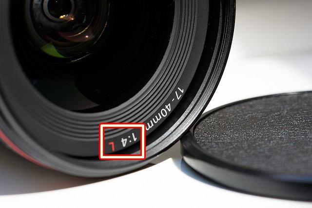 arti kode L pada lensa Canon DSLR