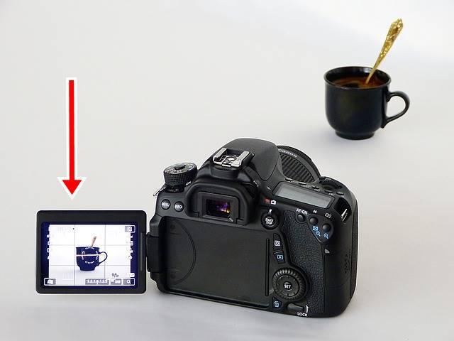 layar vari-angle atau Vari-Angle LCD Monitor