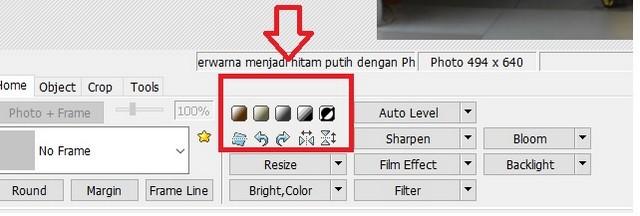 merubah foto berwarna menjadi foto hitam putih dengan photoscape 05