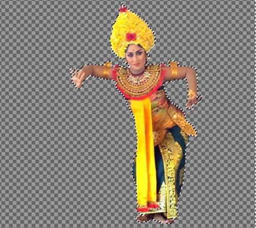 Cara Merubah Warna Latar Belakang Foto Dengan GIMP D -1