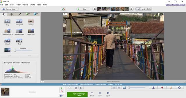 Merubah File RAW Dengan Software Gratisan Picasa A