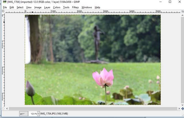 cara membuat efek selective color dengan GIMP AA5